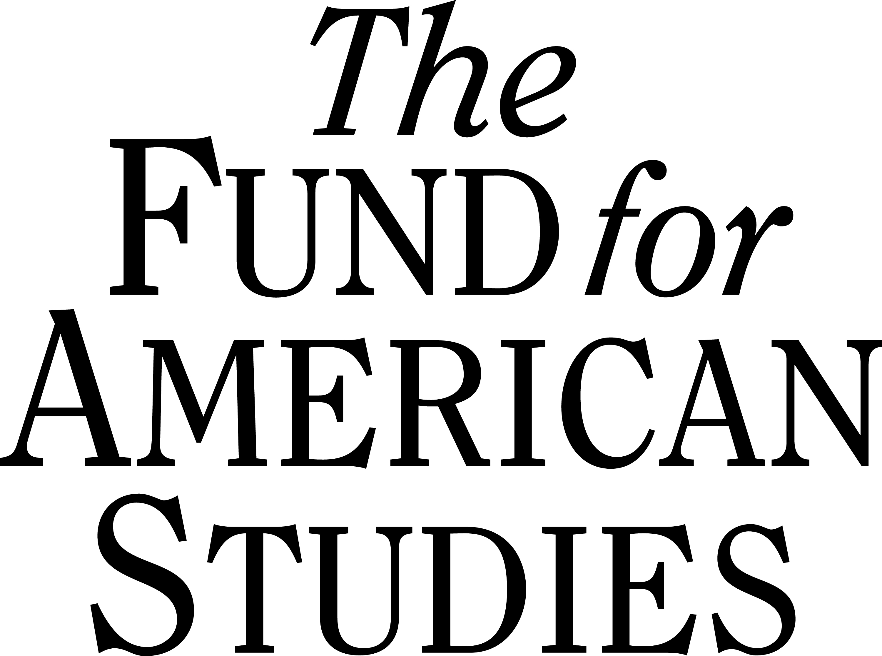 The Fund for American Studies